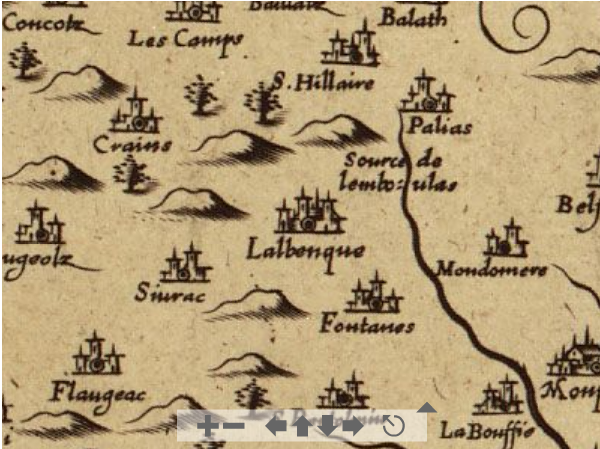 Description du Pays de Quercy, Jean Tarde, 1642 - Source BNF