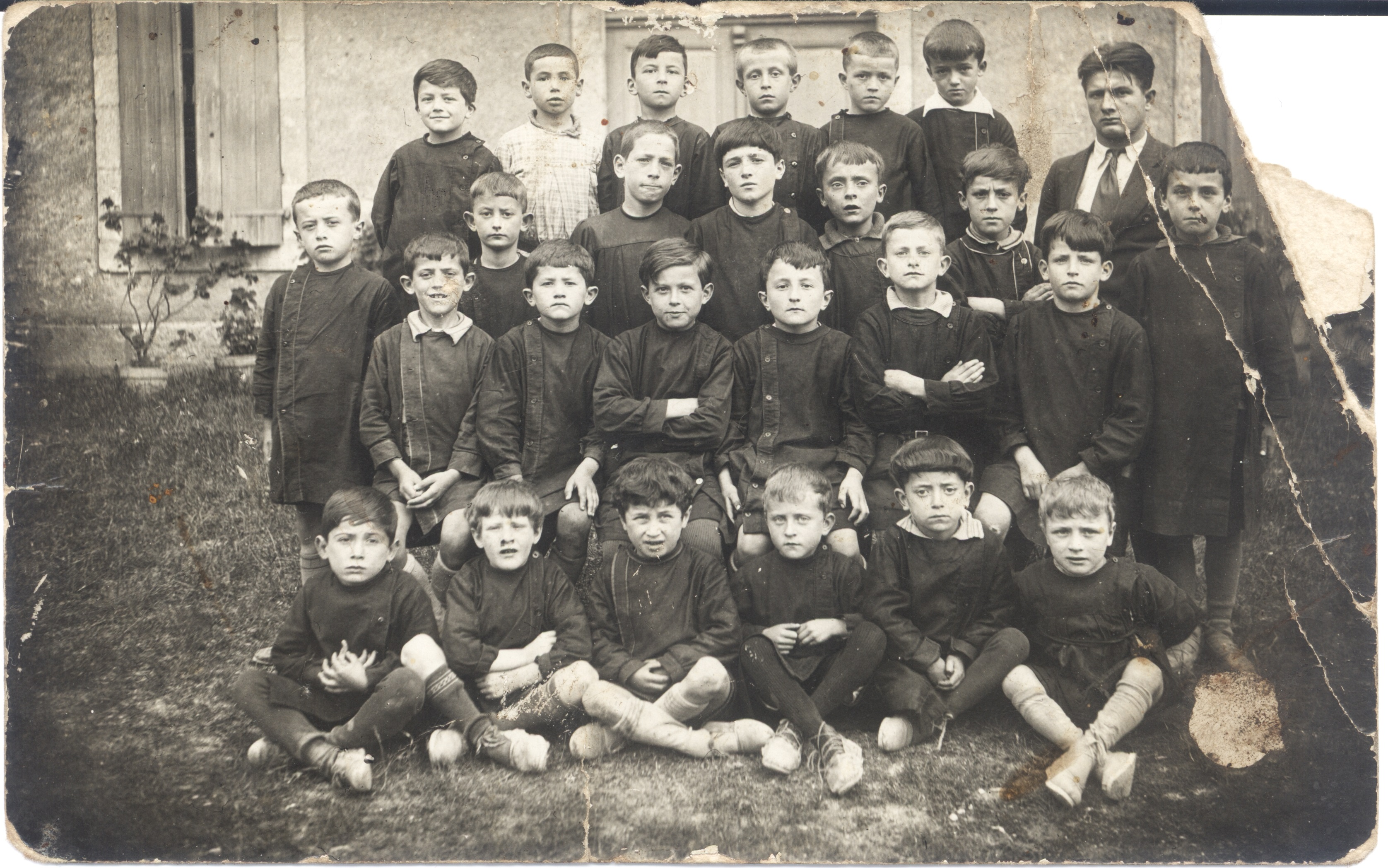 1930 environ Photo de classe