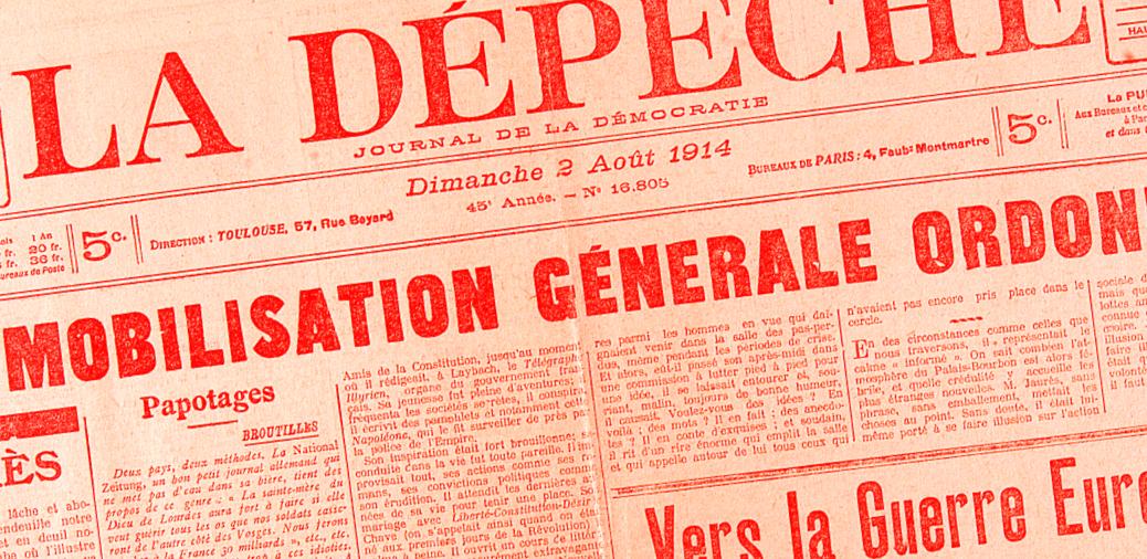 Exposition 'Centenaire de la Grande Guerre : 1914'
