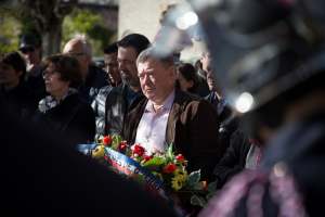 11 novembre 2014 - Dépôt de gerbe - Monuments aux morts - Lalbenque