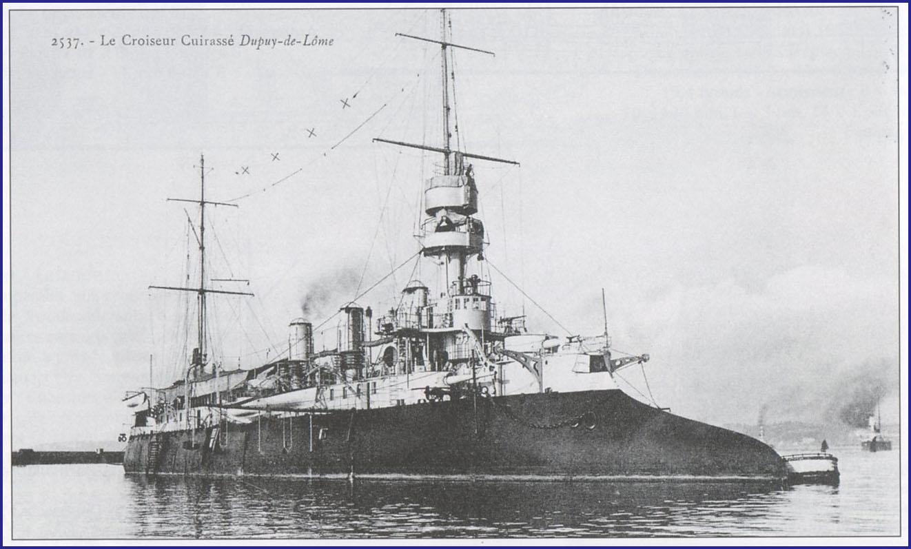 Le cuirassé Dupuy-de-Lôme