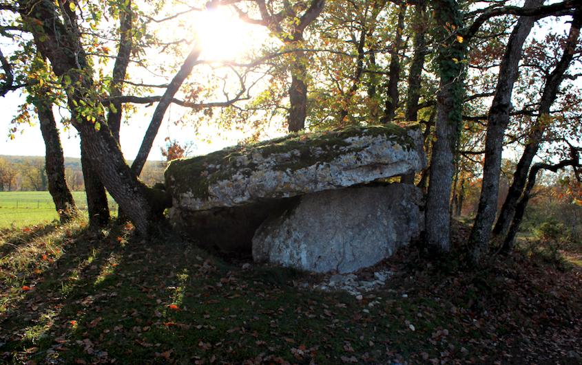 Les dolmens de Lalbenque