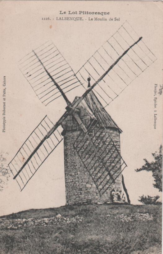 Lalbenque - Le moulin de Sol