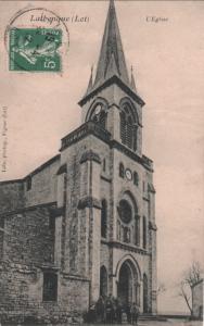 Lalbenque - L'église