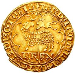 Agnel d'or de Charles VI